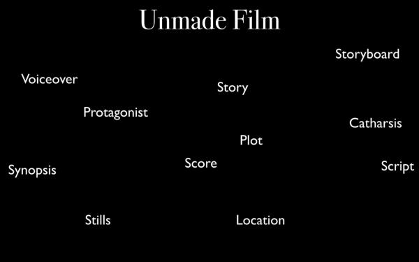 Uriel Orlow Unmade Film: The Proposal