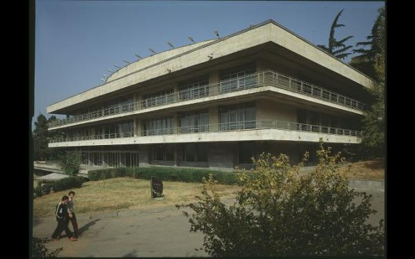 Tbilisi Chess Palace and Alpine Club, 1980s © G. Chubinashvili National Research Centre for Georgian Art History and Heritage Preservation