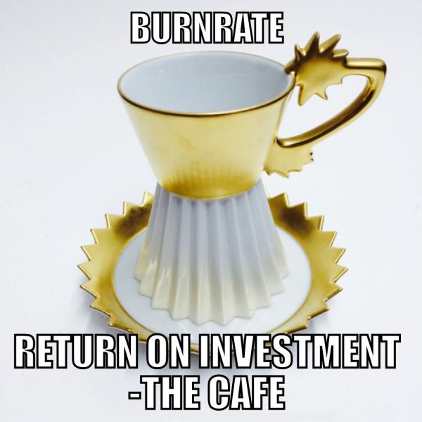 POST CONTEMPORARY ART-Return on Investment- THE CAFE